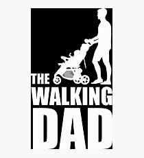 The Walking Dad Baby Carriage Photographic Print