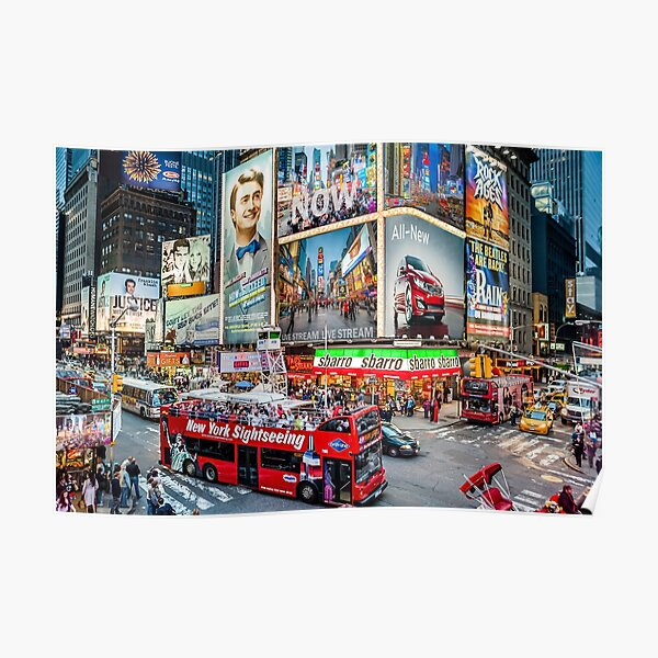 Times Square II Special Edition II Poster
