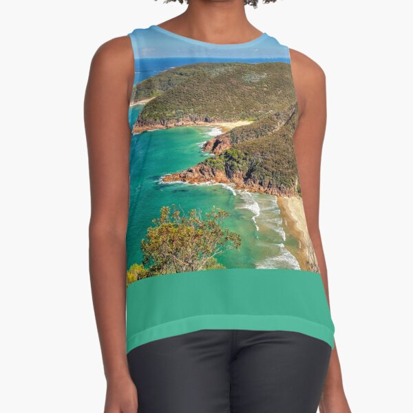 Mt Tomaree, Shoal Bay, Australia Sleeveless Top