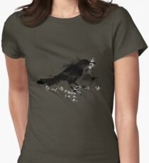 Broken Strings Womens Fitted T-Shirt