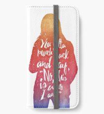 Emma Swan (watercolor);  iPhone Wallet