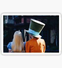 Alice & the Hatter Sticker