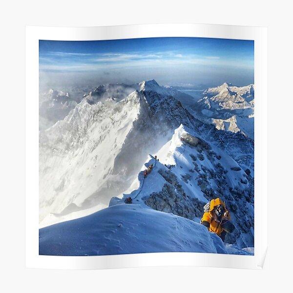 Mont Everest Poster
