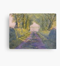 Hockney's Tunnel from t'Other Side  Metal Print