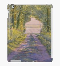 Hockney's Tunnel from t'Other Side  iPad Case/Skin