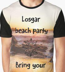 Losgar Beach Party Graphic T-Shirt