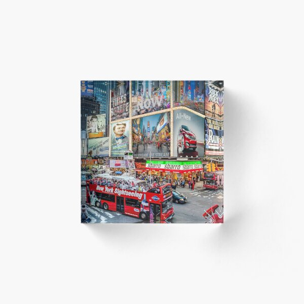 Times Square II Special Edition I Acrylic Block