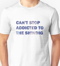 Can't Stop Addicted To The Shindig - Red Hot Chili Peppers T-Shirt