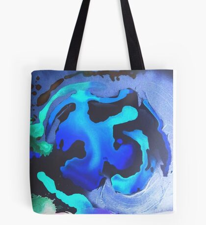 Swim with the Mermaids in the Great Natural Deep Blue Sea Tote Bag