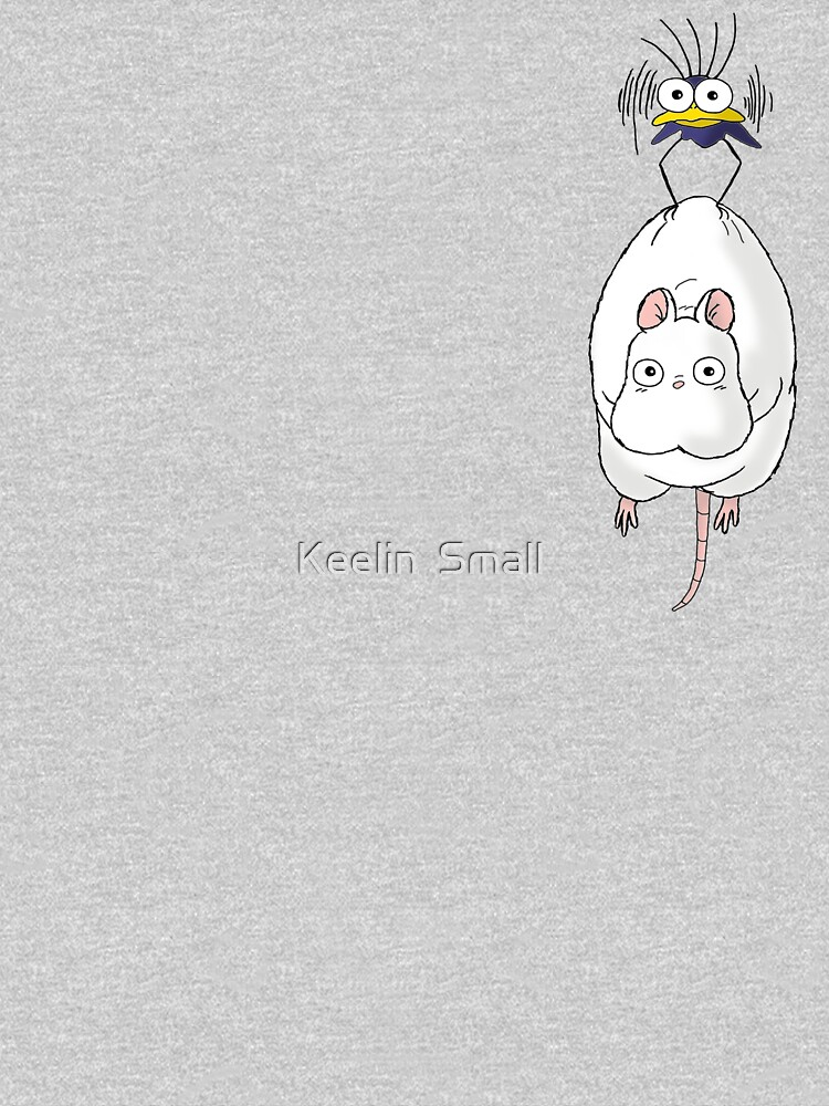 Spirited Away Mouse and Fly by iamkeelin