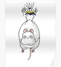 Spirited Away Mouse and Fly Poster