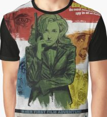 Gillian Anderson is Double-O Seven Graphic T-Shirt
