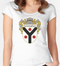 Cunningham Coat of Arms/Family Crest Women's Fitted Scoop T-Shirt