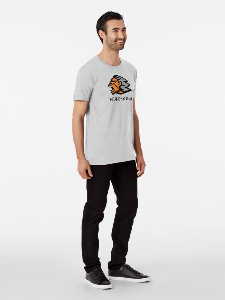 Alternate view of Neanderthal Premium T-Shirt