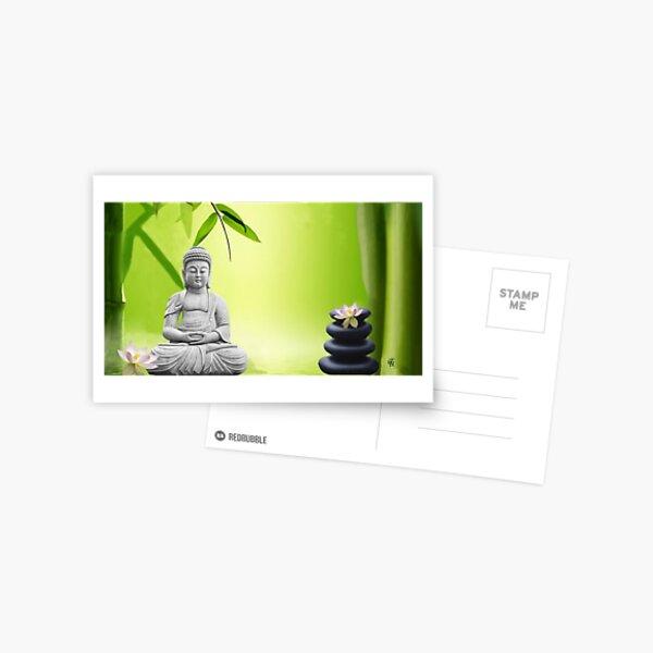 Meditation  ( Omm ) Postkarte