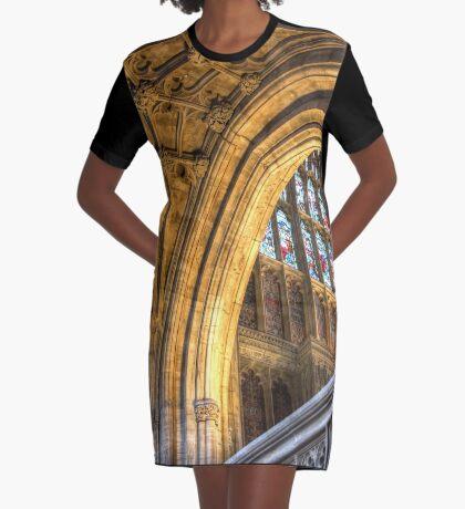 Golden Arch Graphic T-Shirt Dress