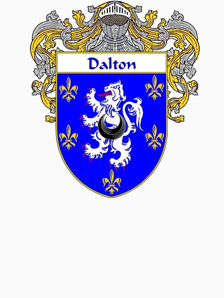 Dalton Coat Of Armsfamily Crest Unisex T Shirt By Irisharms