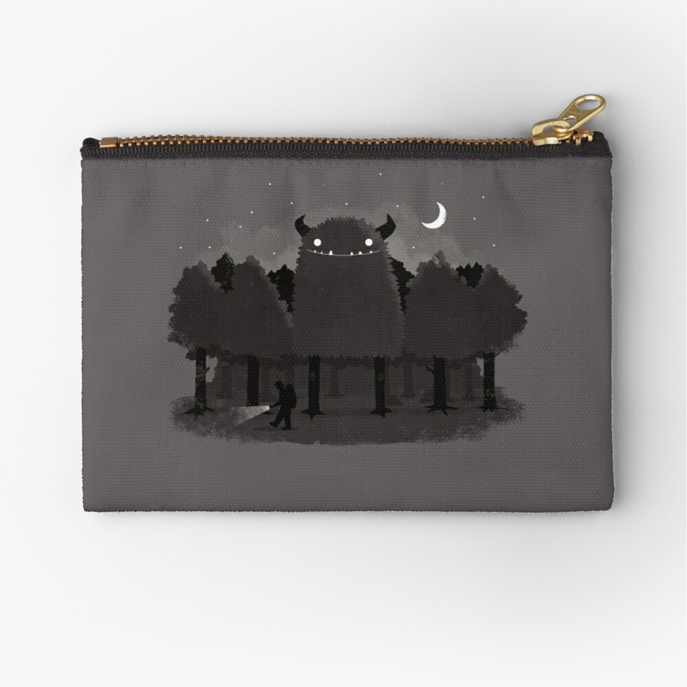 Monster Hunting Zipper Pouch