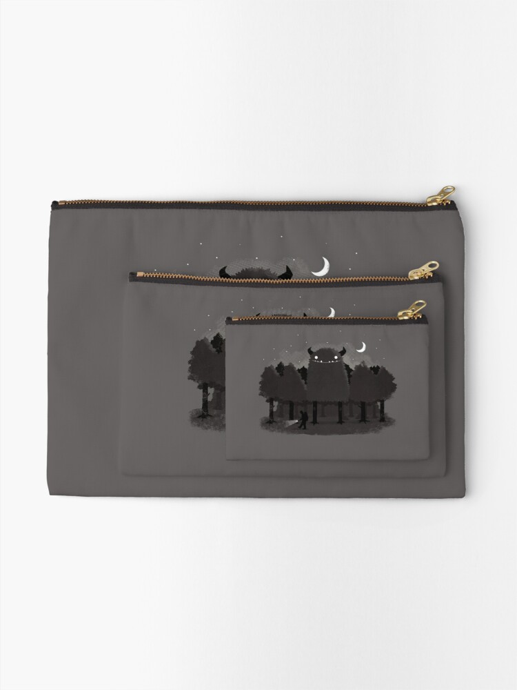 Alternate view of Monster Hunting Zipper Pouch