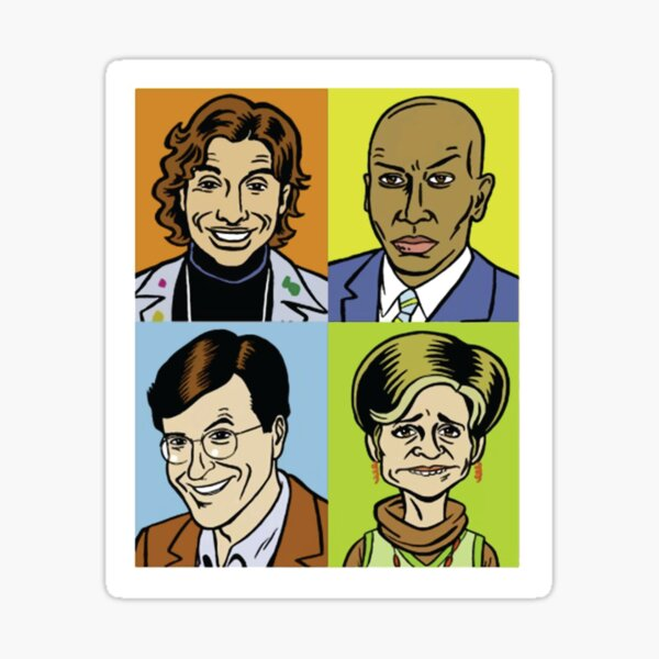 Strangers With Candy Square Sticker