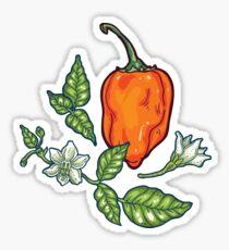 hot habanero Sticker