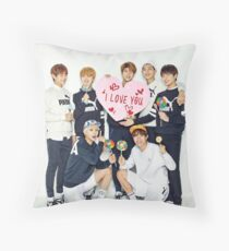 BTS Valentines 01 Throw Pillow