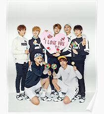 Póster BTS Valentines 01