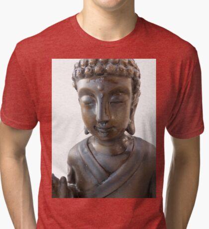 Budha again  Tri-blend T-Shirt