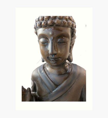 Budha again  Art Print