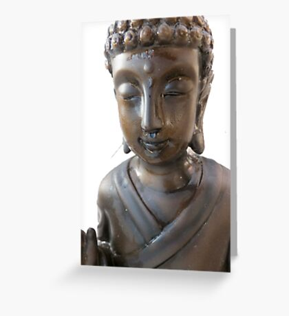 Budha again  Greeting Card