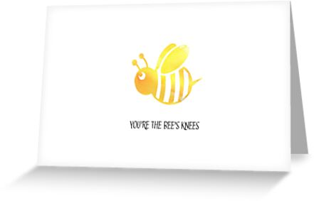 Youre the bees knees greeting card greeting cards by arielhenley youre the bees knees greeting card by arielhenley m4hsunfo