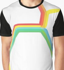 Rainbow BART Map Graphic T-Shirt