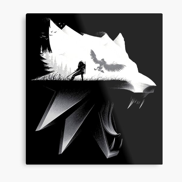 witcher  Metal Print