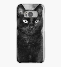 Black as Night Samsung Galaxy Case/Skin