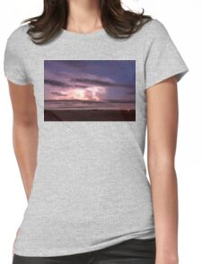 Epic Cloud To Cloud Lightning Storm Womens Fitted T-Shirt