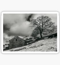 Snowy Ruin Sticker