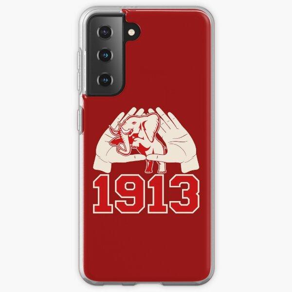 Delta 1913 Elephant Sigma Hand Sign Theta Samsung Galaxy Soft Case