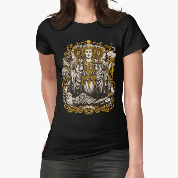 IBERIAN HECATE Fitted T-Shirt