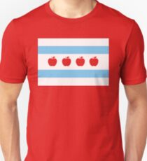 Chicago Teacher Flag - original RED Unisex T-Shirt