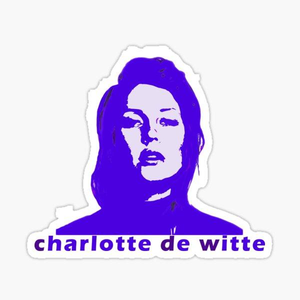 charlotte de witte Sticker