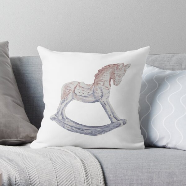 My Little Pony Rocking Horse Throw Pillow