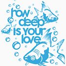 how deep is your love by logoloco