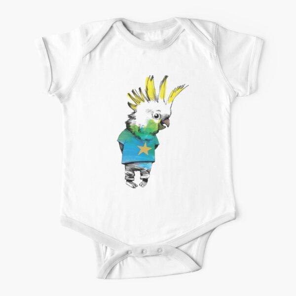 Geometric Bodysuit Baby Bird Shirts Bird Bodysuit for Babies Geometric Birds New Zealand Bodysuit Baby Bird Clothes