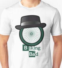 Breaking Bad parody: biking bad Slim Fit T-Shirt