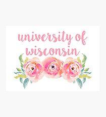 University of Wisconsin Photographic Print