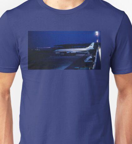Tupolev Tu-114 Rossiya at night T-Shirt