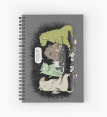 Monsters love RPGs Spiral Notebook