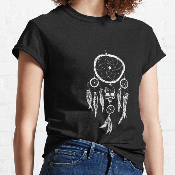 Dream Catcher Skull | White version | Classic T-Shirt