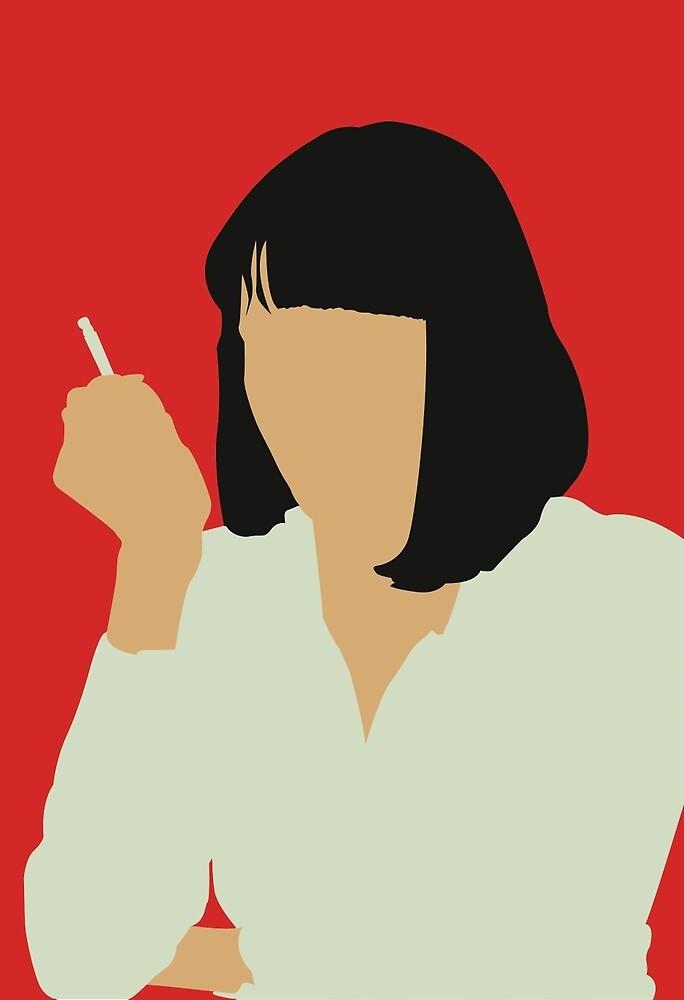 Uma Thurman- Pulp Fiction by Kailey Slemp