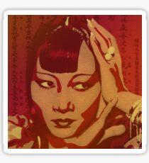Anna May Wong Sticker